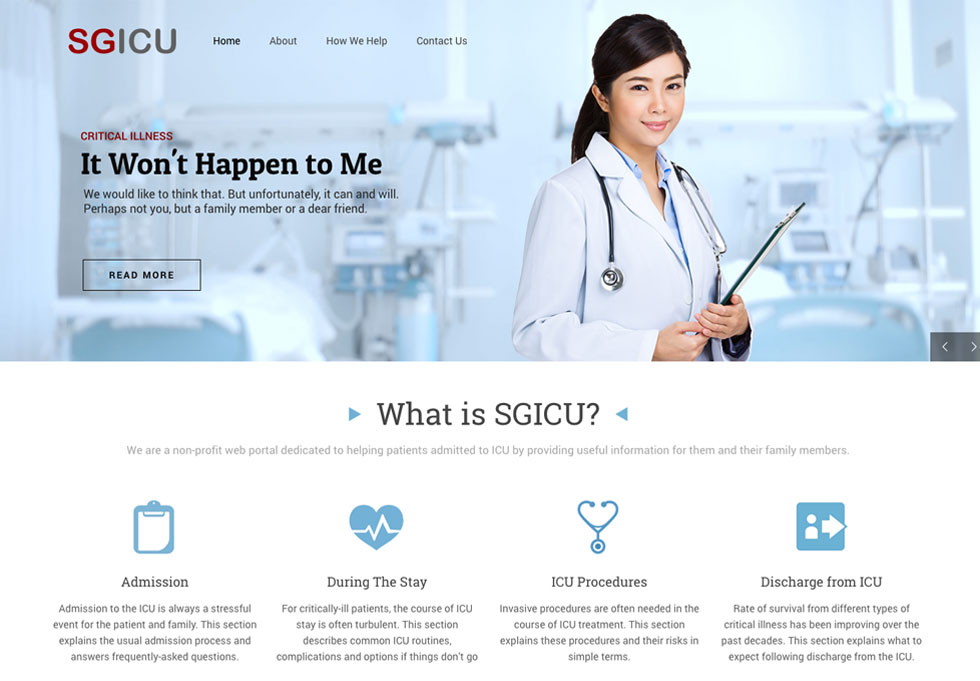 Visit SGICU's Website