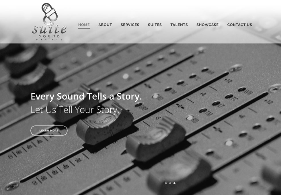 Visit Suite Sound's Website